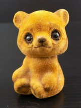 Vintage JOSEF ORIGINALS Sitting Smiling Brown Teddy Bear  - $15.83
