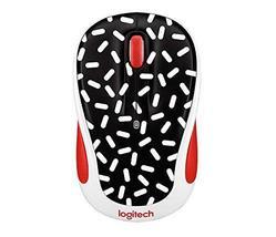 Logitech Party Collection M325c Wireless Optical Mouse, Memphis Black - $679,86 MXN