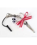 Gothic Lolita Phone Charm, Scissors Charm, Grell Sutcliff, Kuroshitsuji,... - $8.00