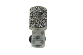 Bath & Body Works Glitter Wedge Wallflower Diffuser Plug Black Silver - $16.99