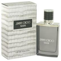 Jimmy Choo Man by Jimmy Choo Eau De Toilette Spray 1.7 oz (Men) - $51.03