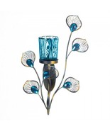 Peacock Inspired Single Sconce - $23.50