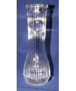 "Clear Glass 6""  Bud Vase - $9.49"