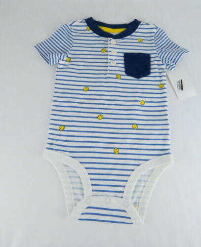 Primary image for Infant Boys Bodysuit OshKosh B'Gosh Baby Boys' Pocket Henley Bodysuit 9M Multi