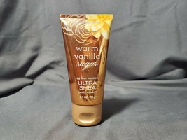 Bath & Body Works Warm Vanilla Sugar Ultra Shea Body Cream 2.5 oz/ 70 g - $5.93