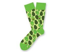 HOLY GUCAMOLE Fun Novelty Socks Two Left Feet Sz Med/Large Dress SOX Casual - $9.99
