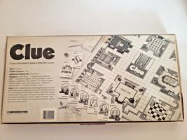Clue the Board Game Classic Detective by Parker Brothers 1986 Vintage.. Complete image 4