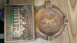 Vintage Washington's Mansion,Souvenir Ashtray & Cigarette holder ,Deer ,... - $9.99