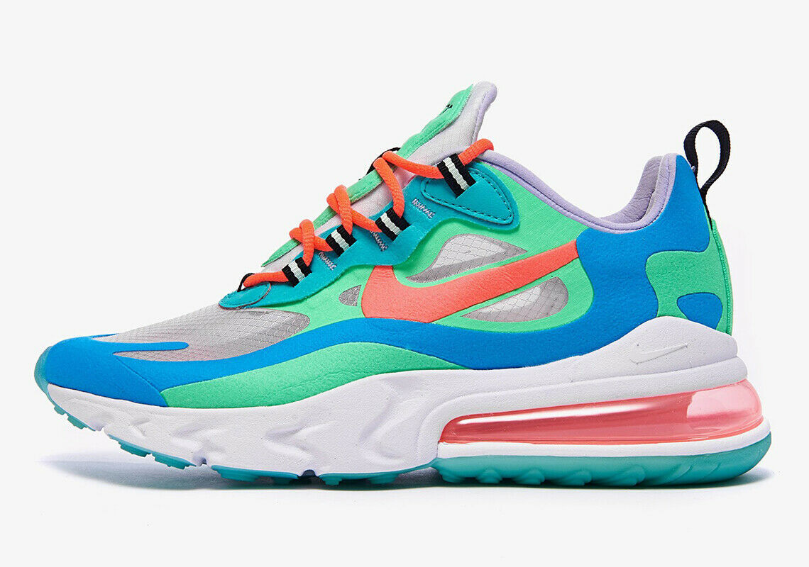 Primary image for Women's Nike Air Max 270 'React Psychedelic Movement'  AT6174-300 Women Size 6.5