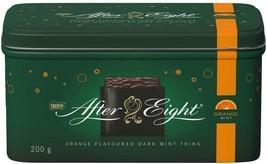NESTLÉ After Eight Orange Dark Mint Thins Collectible Tin 4 x 200g tins - $69.99