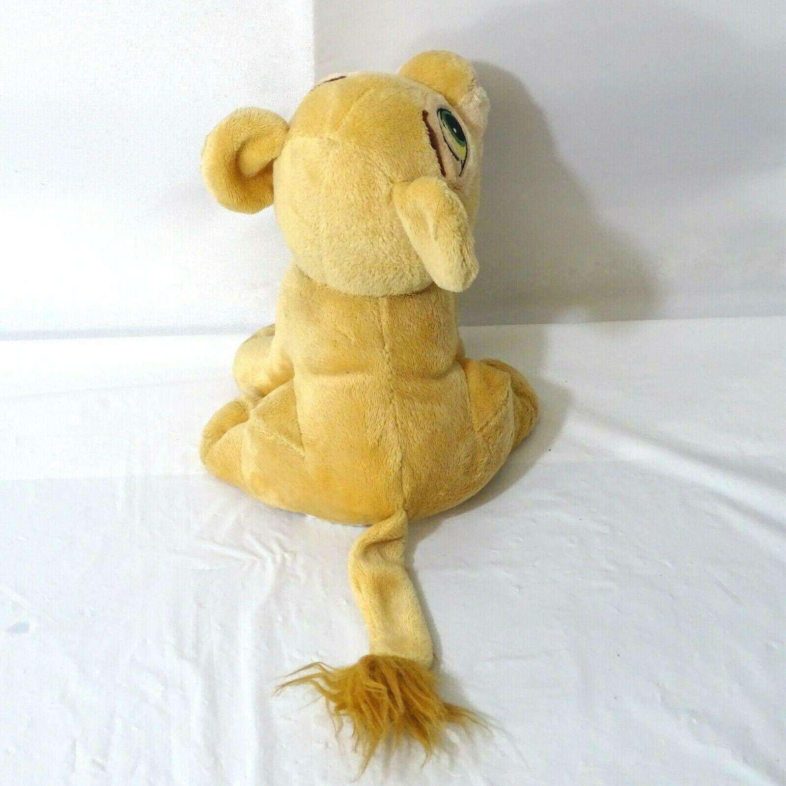 Disney Lion King Nala Cub Stuffed Plush Toy Tan 8 inch image 2