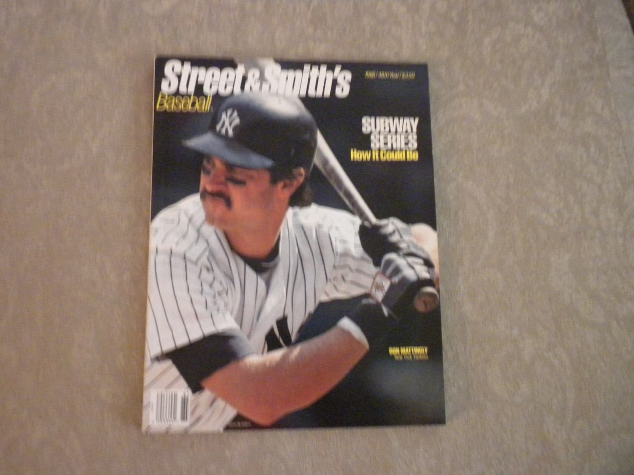 Primary image for 1988 Street & Smith's Baseball Annual: NY Yankees Don Mattingly; Dale Murphy,
