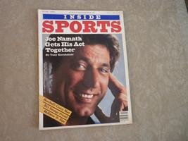 Joe Namath; John McEnroe; Old Ballpark photos in comp Inside Sports Mag ... - $5.99