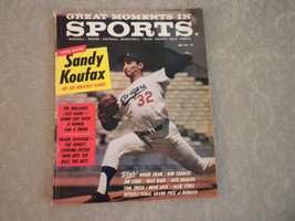 1964 Great Moments in Sports Magazine complete: Sandy Koufax; Ted Willia... - $9.99