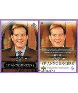 Jim Nantz 2004 Upper Deck SP Announcers Card #60 - $1.00