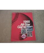 1988 Major League Baseball All Star Game Program complete VG+ - $9.35
