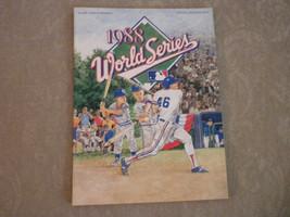 1988 World Series Program complete VG+ - $9.35