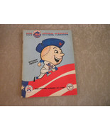 1976 New York Mets Yearbook complete revised edition with team photo - $12.99