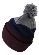 Primitive New Era Color Blocks Pom Beanie Winter Skate Ski Hat NWT image 2