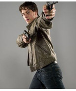 Men's Leather Jacket Wanted Wesley Gibson James McAvoy Leather Jacket - $114.99