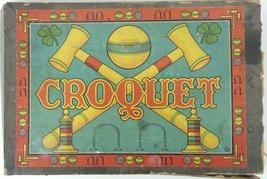 'Croquet c.1930's Boxed Game Set' - $350.00