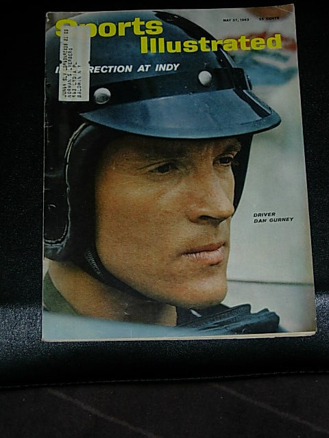 Primary image for 1963 Sports Illustrated: Dan Gurney, Sherlock Holmes as Sportsman; Albie Pearson