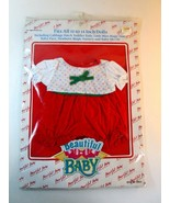 """Vintage 1992 Doll Jumper Romper-Fits 12-14"""" CPK-Baby Face-Little Miss Ma... - $12.99"""
