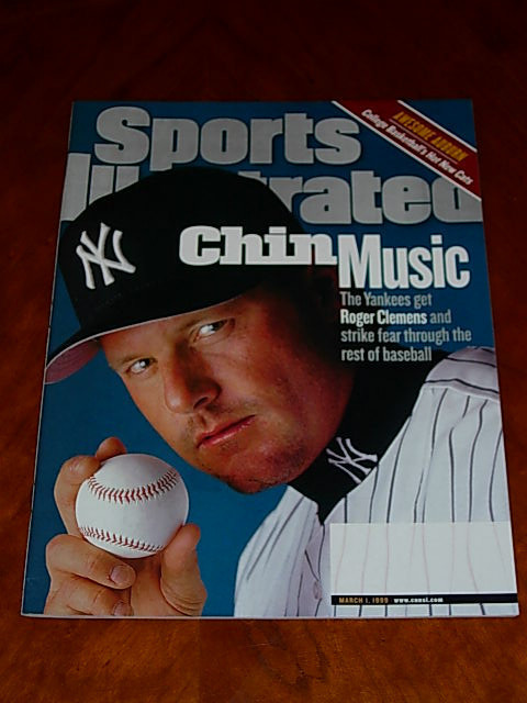 Primary image for 1999 Sports Illustrated: Roger Clemens, Auburn UTEP B'ball Phoenix Suns, surfers