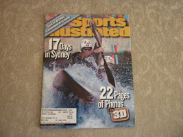 Oct  2000 Sports Illustrated: the Sydney Australia Olympic Games with 3D... - $4.99