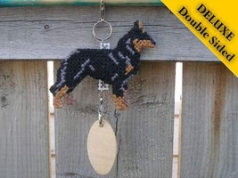 Beauceron Deluxe crate tag double sided, hang anywhere, agility dog show... - $26.00