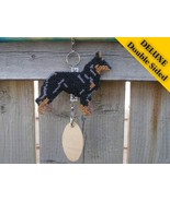 Beauceron Deluxe crate tag double sided, hang a... - $26.00