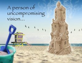 Uncompromising Vision: Unique Congratulations Card - $5.00