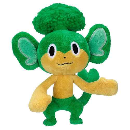 Primary image for Pokemon Black & White: Pansage 8 Inch Tall Plush Brand NEW!