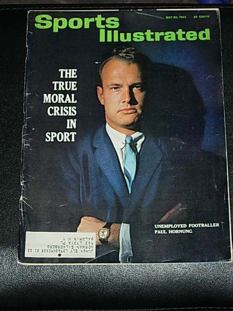 Primary image for 1963 Sports Illustrated Paul Hornung, College Golf; Fashions, MLB Kansas City As