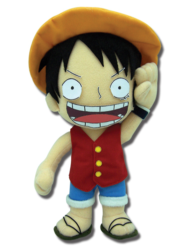 Primary image for One Piece Luffy 10 Inch Tall Plush GE8986 *NEW*