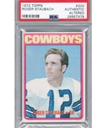 1972 Topps #200 Roger Staubach PSA Authentic Rookie Card Cowboys - $188.10