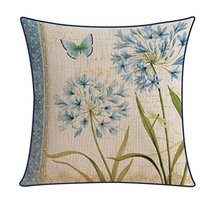 Kylin Express Beautiful American Pastoral Thick Cotton Pillow Case, No.1 - $18.58