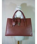 AUTH NWT Bottega Veneta Medium Roma Bag In Russet Intrecciato Calf Leath... - $3,445.20
