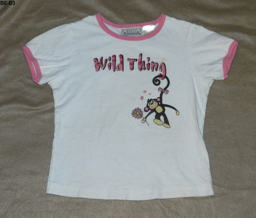 Be b3  basic editions wild thing tee