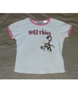 Basic Editions White Wild Thing Size 7/8 Tee Shirt - $5.99