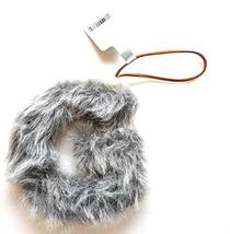 Aspen for Target Letter G Monogram Holiday Ornament Gray Faux Fur Initial - $1.99