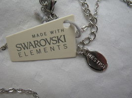 Mestige New Crystal Mandala Set Earrings Necklace Swarovski Elements Jewelry image 5