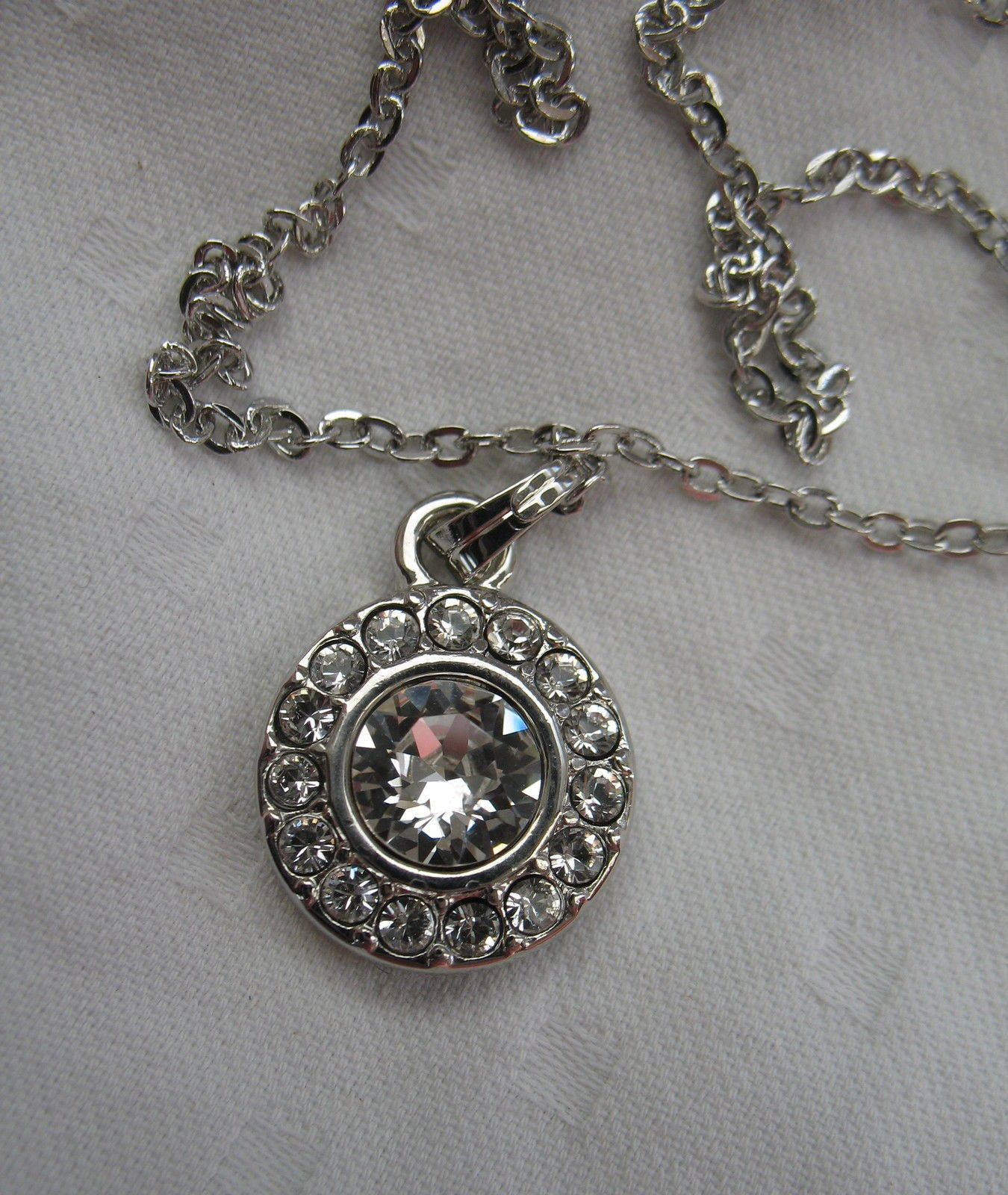 Mestige New Crystal Mandala Set Earrings Necklace Swarovski Elements Jewelry image 7
