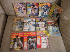1981 Lot of 11 issues of Baseball Digest Feb-Dec: Henderson; Raines, Val... - $11.99