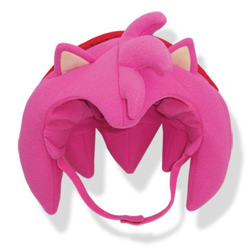 Primary image for Sonic The Hedgehog: Amy Big Head Fleece Cap Brand NEW!