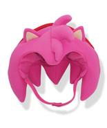 Sonic The Hedgehog: Amy Big Head Fleece Cap Brand NEW! - $24.99