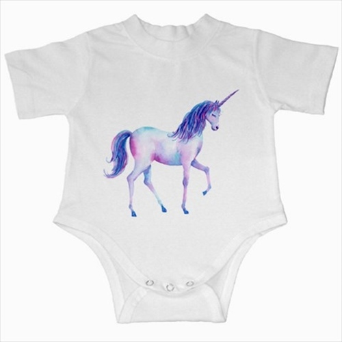 Primary image for Unicorn infant baby creeper bodysuit romper onepiece newborn jumpsuit