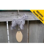 Bouvier des Flandres Deluxe crate tag, hang any... - $24.00