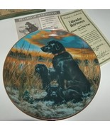 Hamilton Collection Labrador Retrievers Plate - $19.99