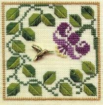 Hummingbird LL02 Little Leaf kit Elizabeth's Designs  - $11.70